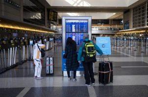 Vista de un aeropuerto en Estados Unidos.