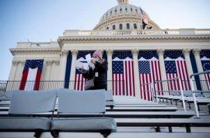 El presidente Donald Trump no asistirá a la ceremonia de investidura. EFE