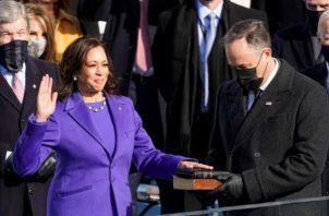 Kamala Harris, vicepresidenta de Estados Unidos. EFE