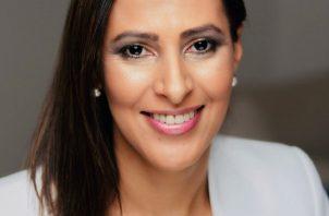 María Madrigal es colombiana y tiene varios años radicada en Panamá. Foto: Cortesía