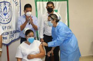 Las vacunas de Pfizer se comenzaron a aplicar en Panamá desde el miércoles 20 de enero.