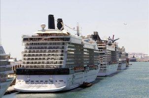 La reanudación de las operaciones de las compañías de cruceros está supeditada a la evolución de la pandemia de la covid-19. EFE