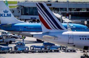 La compañía advirtió de que suspendió desde elpasado viernes todos los vuelos intercontinentales. EFE