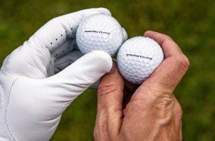 Las pelotas estarán disponibles en las tiendas de golf de todo el mundo a partir del 27 de enero de 2021. Cortesía