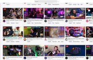 Captura de pantalla de Twitch, convertida en la nueva plataforma para artistas para grabar y estrenar sus discos.