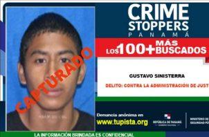 Gustavo Sinisterra se fugó en el 2019 del Centro Penitenciario La Joyita.