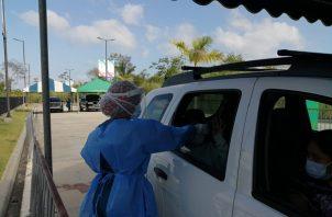 Kevin Cedeño, director regional del Minsa, indicó que el auto exprés, operará de lunes a viernes entre las 8:00 de la mañana a 4:00 de la tarde por tiempo indefinido.