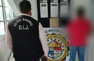 Se ordenó el traslado del imputado al centro penal ubicado en el corregimiento de Chiriquí.