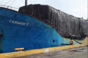 La nave partió el 18 de enero, pero no ha llegado a su destino. Foto: Diómedes Sánchez