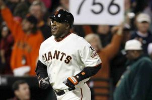 Barry Bonds. Foto:EFE