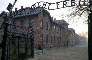 Campo de exterminio de Auschwitz-Birkenau, en Polonia. Foto: EFE