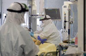 Hay saturación en los hospitales portugueses, con récord de hospitalizados por covid-19. Foto: EFE