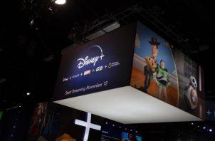 Plataforma streaming Disney+.