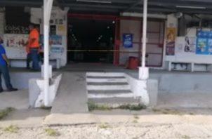 Los delincuentes intentaron robar el minisúper Vicente en la comunidad de Nuevo Vigía. Foto: Diómedes Sánchez