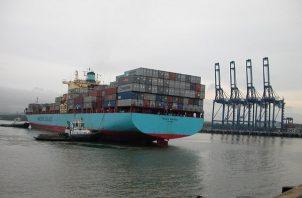 El accidente laboral ocurrió en el área de la bodega del buque Eurogracht, en el muelle 6.