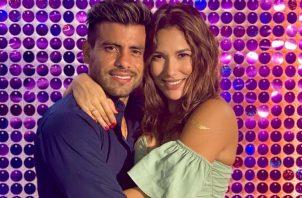 Efraín Ruales a Alejandra Jaramillo. Instagram