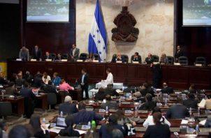 Vista general del Parlamento de Honduras en Tegucigalpa (Honduras).