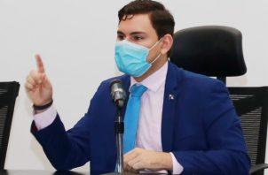Juan Diego Vásquez logró que el proyecto sea debatido el lunes. Foto de cortesía