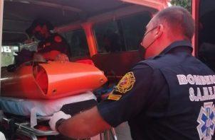 La accidentada es de nacionalidad estadounidense y residente en Panamá. Foto: Eric A. Montenegro