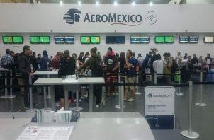 Aeroméxico argumentó que los acuerdos eran necesarios. EFE