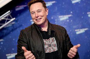 El CEO de Tesla y SpaceX, número uno en el podio de los millonarios. Foto. EFE
