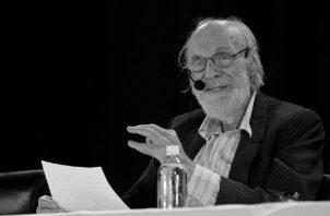 Franz Hinkelammert reflexionó sobre temas diversos. Insistió en la importancia de sobreponer al ser humano sobre el mercado neoliberal. Foto: Cortesía.