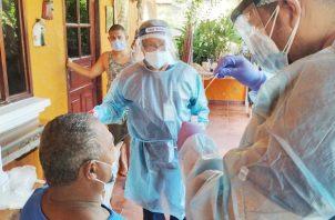 En el corregimiento de San Carlos, la cifra se elevó de 145 casos positivos a 260 contagiados..