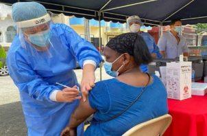 El primer lote de vacunas de Pfizer contra la covid-19 llegó a Panamá el 20 de enero.