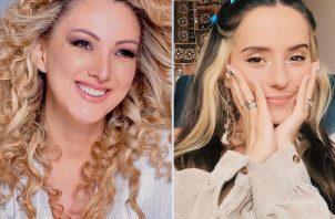 Erika Ender y Evaluna Montaner. Instagram