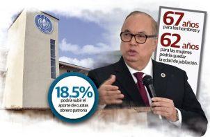 Los gremios sindicales y economistas critican la capacidad de administración en la gestión de Lau, así como la propuesta para subir la edad de jubilación.
