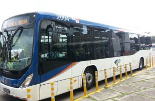Más de 1,200 buses es la flota actual de Metrobuses que hay en Panamá.