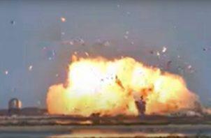 El Starship Serial Number 9 (SN9) se estrelló al aterrizar durante una prueba efectuada en la base de la compañía en Boca Chica (Texas).