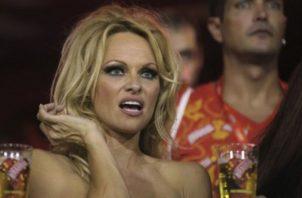 Pamela Anderson se casó en secretó con su guardaespaldas. Foto: Archivo