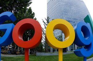 Alphabet, la matriz de Google, se disparó hoy un 7.40% tras reportar un fuerte crecimiento de sus ventas en el cuarto trimestre de 2020. Foto/EFE
