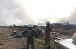 La Autoridad de Aseo apoyará a los municipios con maquinaria y personal técnico que los asesorará en las adecuaciones necesarias, para evitar que la gran acumulación de basura se convierta en un problema.