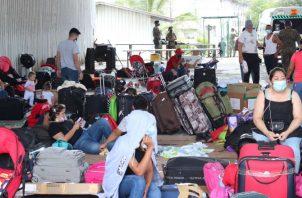 El viernes se comunicó que todos los nicaragüenses varados en Paso Canoas regresarán a su país, pero en forma organizada. Foto de EFE