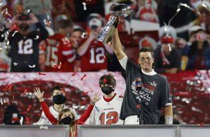 Brady ganó su  séptimo Super Bowl.