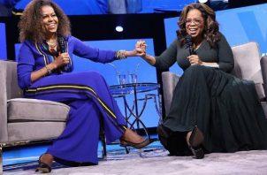 Michelle Obama y Oprah Winfrey. Foto: Instagram