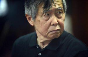 Alberto Fujimori, expresidente de Perú. EFE