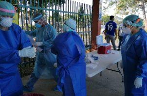 En Chiriquí hay 3,185 personas contagiadas con coronavirus, a quienes se les da seguimiento por medio de los equipos de trazabilidad.