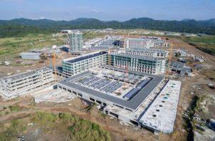 La Ciudad Hospitalaria es una mega obra iniciada en el gobierno del expresidente Ricardo Martinelli Berrocal.