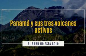 Actividad volcánica de Panamá.