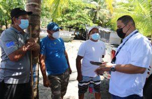 Las autoridades manifestaron su intención de apoyar al sector para mejorar la actividad pesquera.