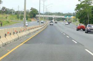Autopista Arraiján-La Chorrera.