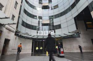 Sede principal de la cadena BBC en Londres, Reino Unido.