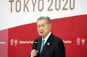 Yoshiro Mori. Foto: @Tokyo2020