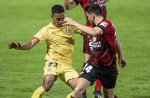Edgar Bárcenas ingresó al minuto 60, en el encuentro de ayer. LaLiga