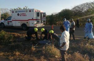 Los trabajadores aseguraron que el hombre fue encontrado por casualidad, ya que escucharon algunos ruidos.