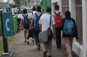 Las clases escolares empiezan oficialmente el 1 de marzo de 2021. Foto/Archivo