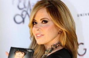 La cantante mexicana Gloria Trevi, en Ciudad de México.